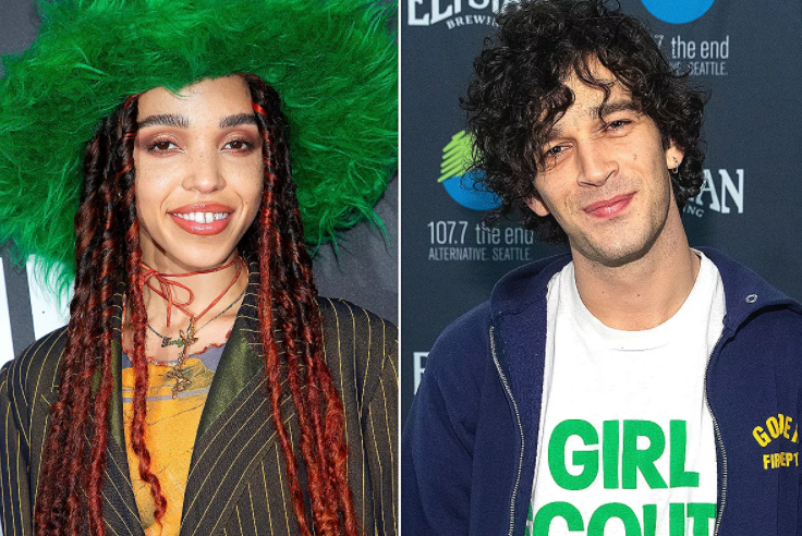 FKA Twigs with his new boyfriend, Matty Healy