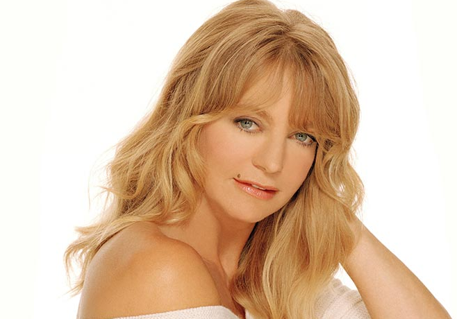 Beautiful and Charming actress, Goldie Hawn