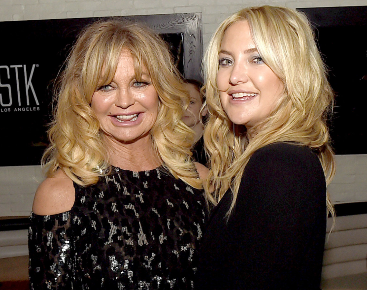 Goldie Hawn With Her Daughter, Kate Hudson