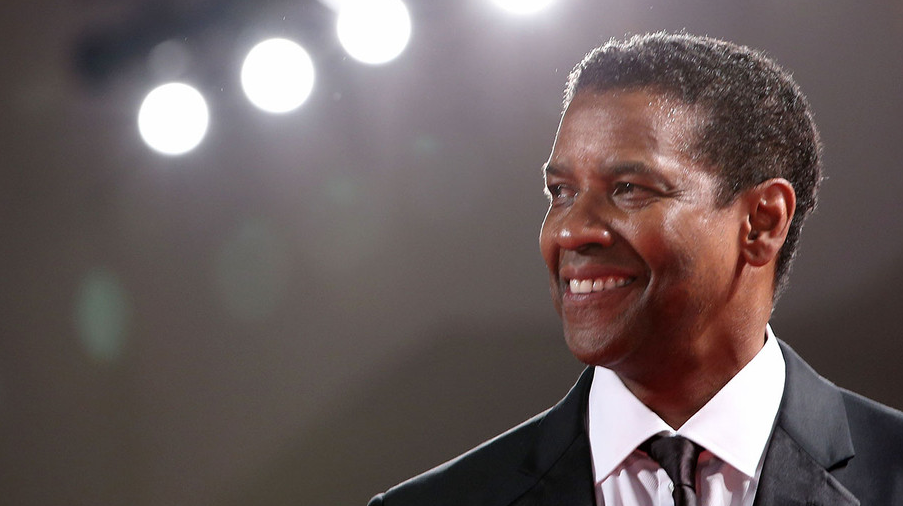 Denzel Washington, a famous actor
