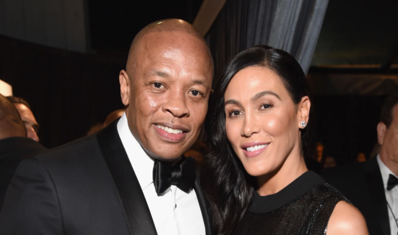 Dr, Dre and his ex-wife, Nicole Young