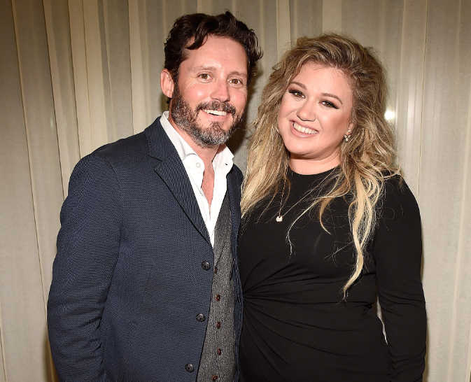 Kelly Clarkson and her husband, Brandon Blackstock