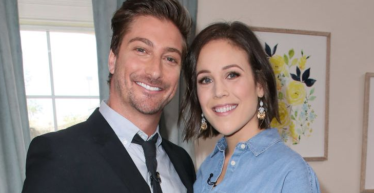 Erin Krakow with her boyfriend Daniel Lissing