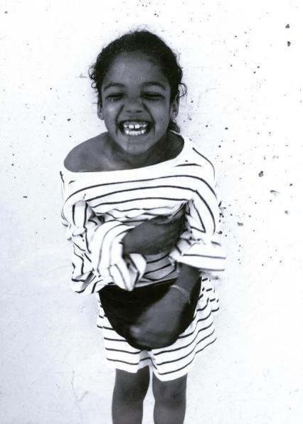 Childhood Picture of Tessa Thompson