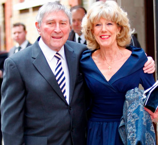 Mark Eden played Alan Bradley in Coronation Street with wife Sue Nicholls, who plays Audrey Roberts