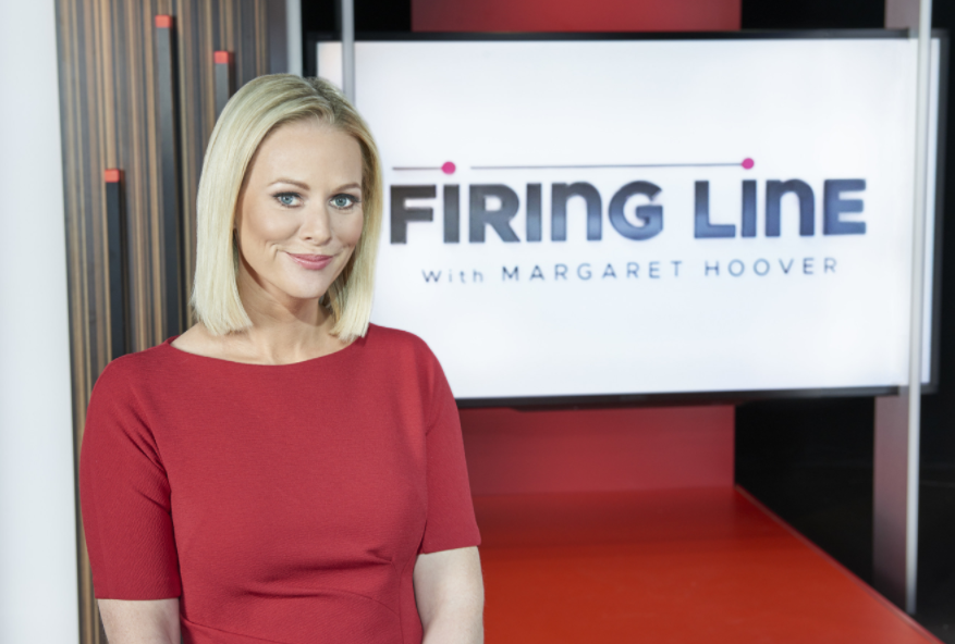 Margaret Hoober hosts of PBS's reboot of the conservative interview show Firing Line