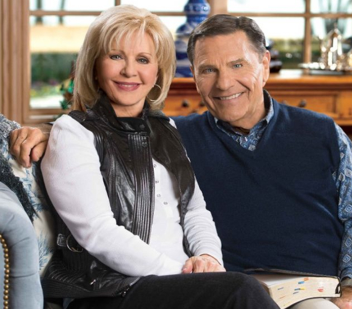 Kenneth Copeland and his wife, Gloria Copeland
