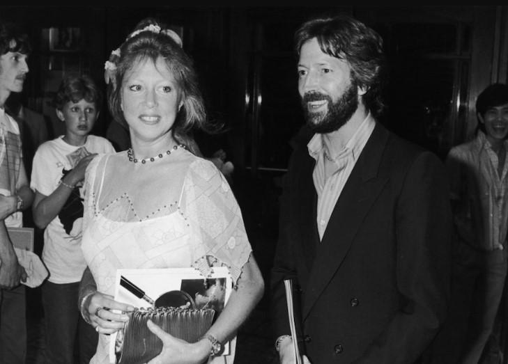 Eric Clapton wife