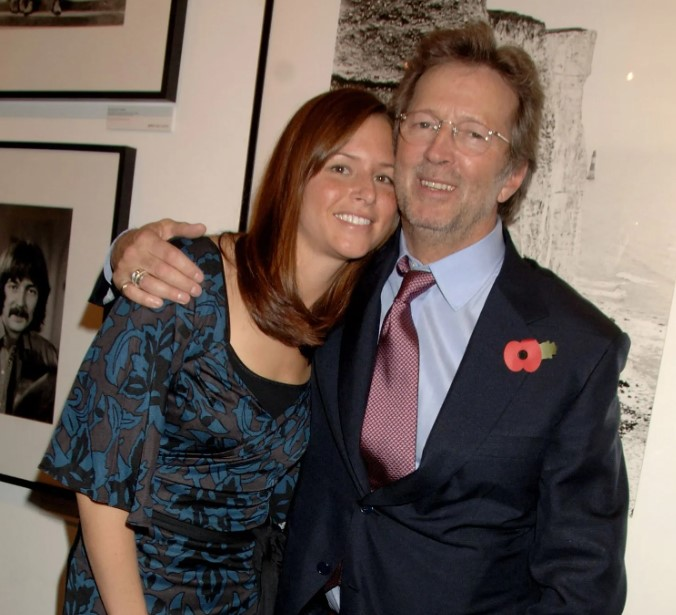 Eric Clapton married