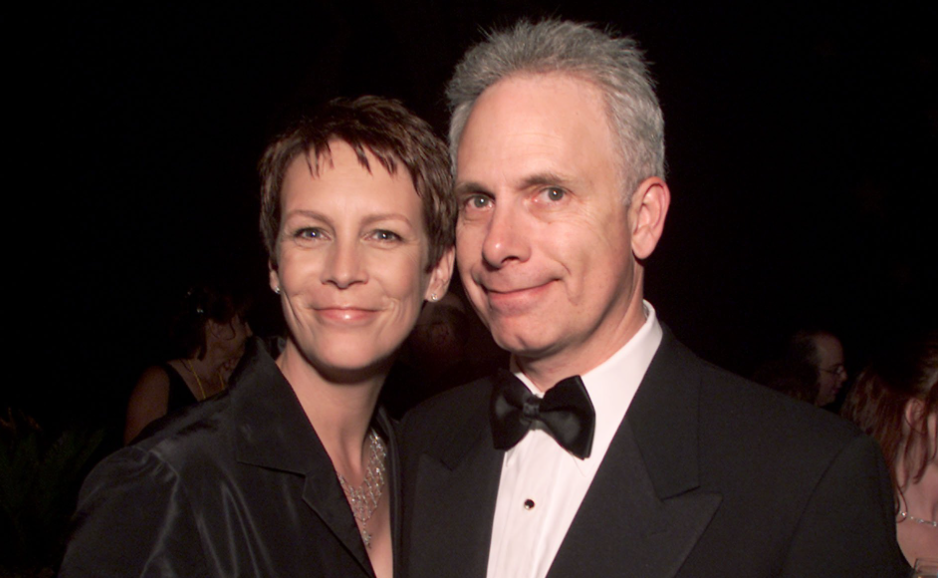 Jamie Lee Curtis with her husband, Christopher Guest