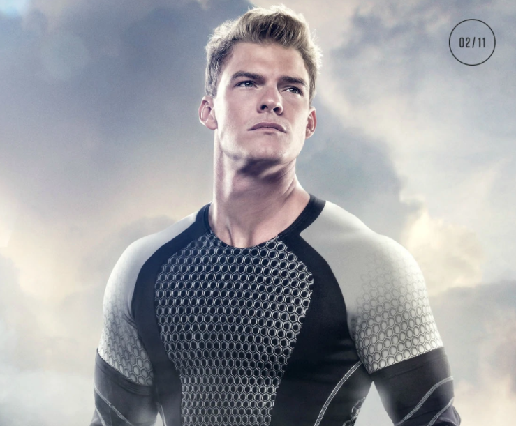 Alan Ritchson as Gloss in The Hunger Games