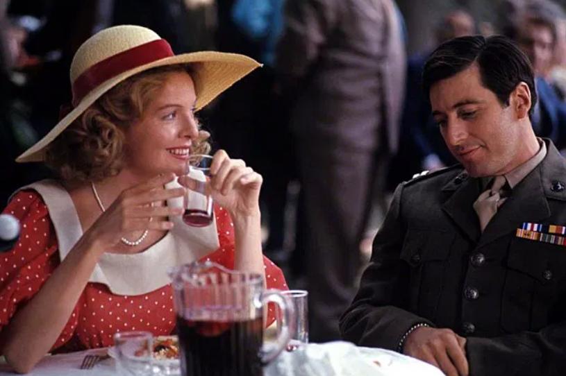 Diane Keaton as Kay Adams-Corleone in The Godfather