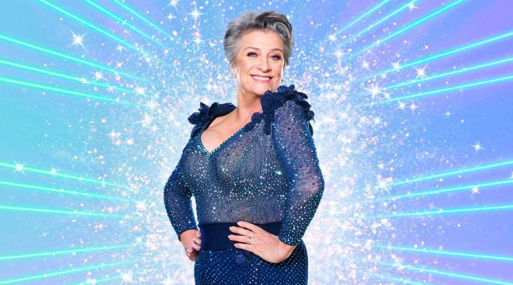 Caroline Quentin in Strictly Come Dancing