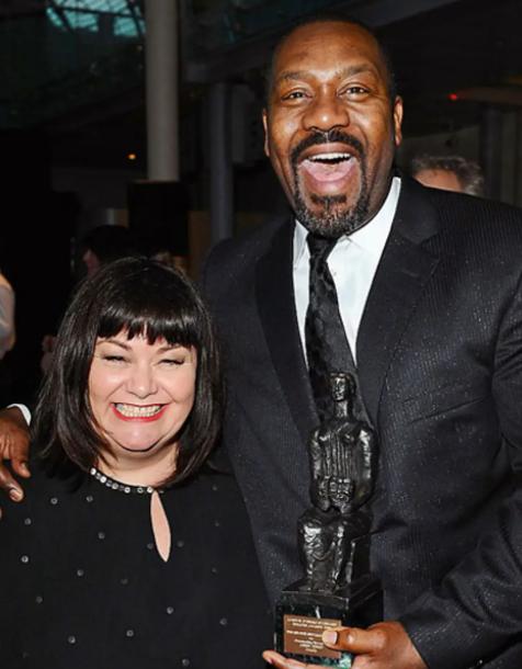 Lenny Henry and his ex-wife, Dawn French