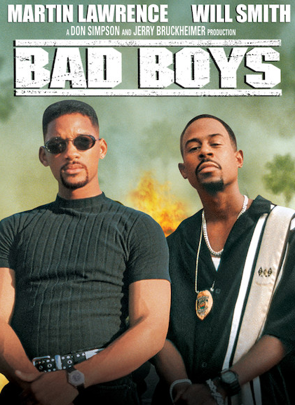 Martin Lawrence With Will Smith In Bad Boys