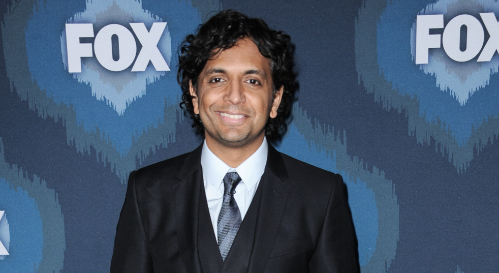 M. Night Shyamalan, a famous actor and a filmmaker