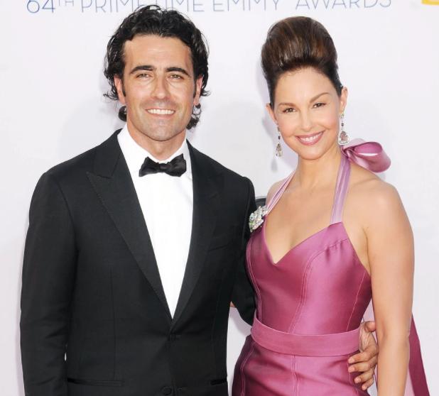 Ashley Judd and her ex-husband, Dario Franchitti