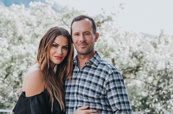 Michelle Money and her boyfriend, Mike Weir