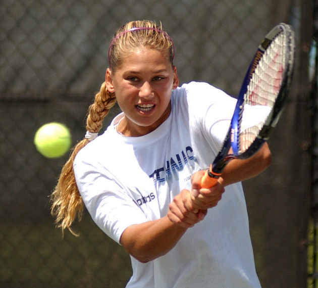 Anna Kournikova, a famous Tennis player and TV personality