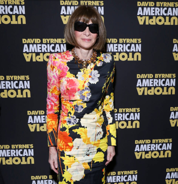 Anna Wintour, being named the 39th most powerful woman in the world by Forbes