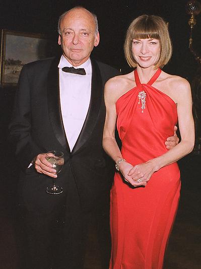 Anna Wintour with her ex-husband, David Shaffer