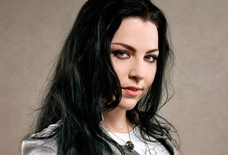 Amy Lee, the lead singer and founder of the rock band, Evanescence