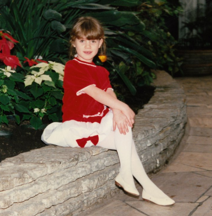 Childhood Picture of Alice Wetterlund