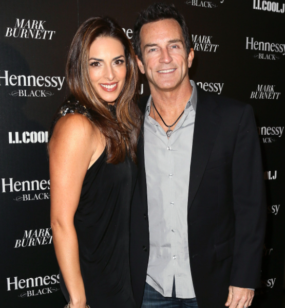 Jeff Probst and his wife, Lisa Ann Russell
