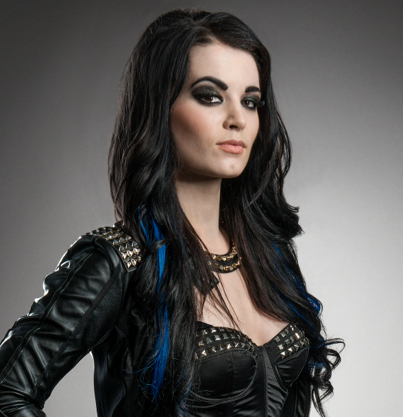 Paige, a famous retired wrestler