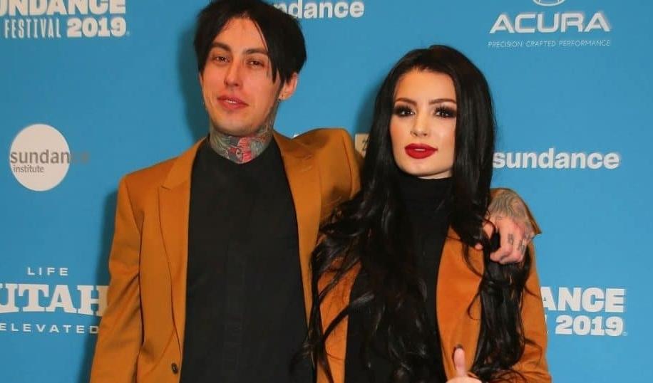 Paige and her boyfriend, Ronnie Radke