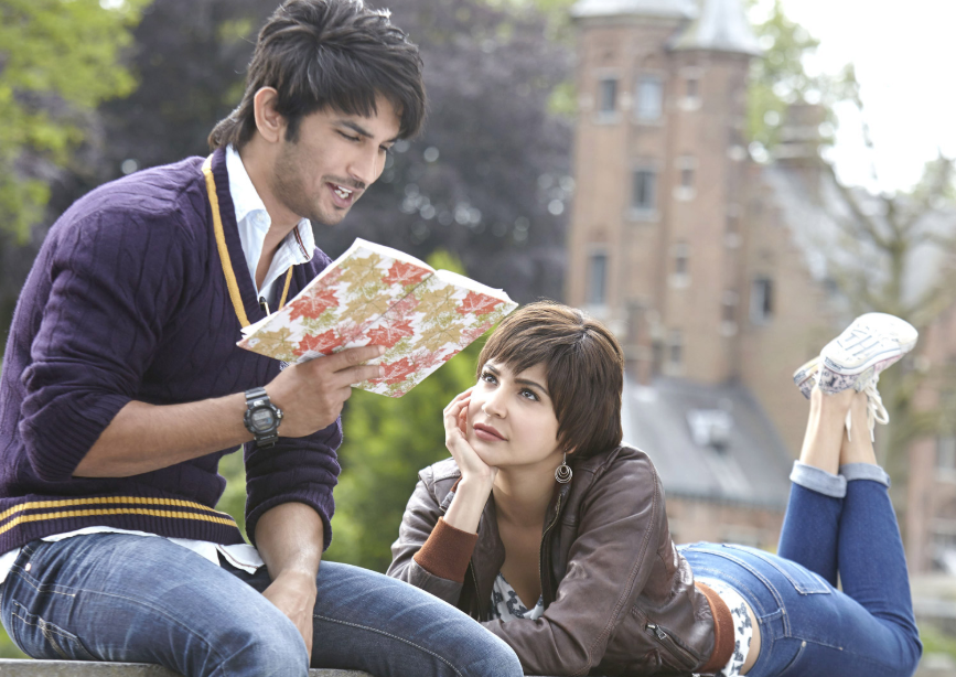 Sushant Singh Rajput With Anushka Sharma in movie PK