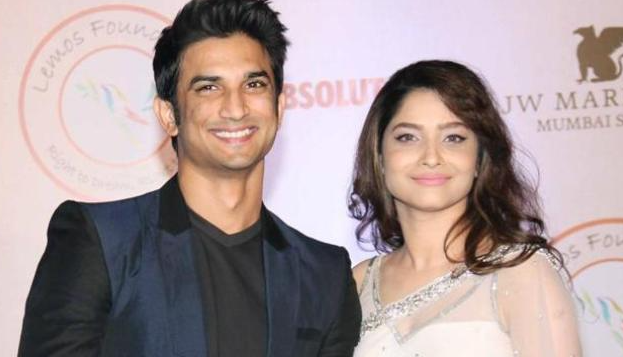 Sushant Singh Rajput With His Ex-Girlfriend Ankita Lokhande