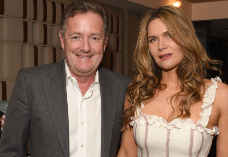 Piers Morgan and his wife, Celia Walden