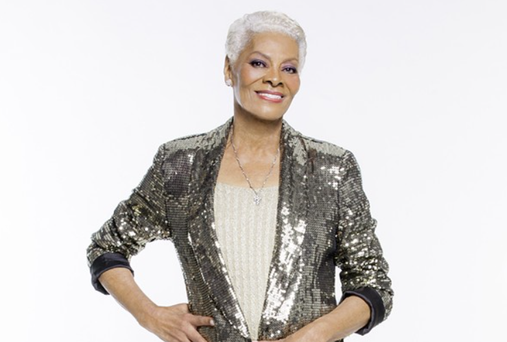 Dionne Warwick, a famous singer and actress