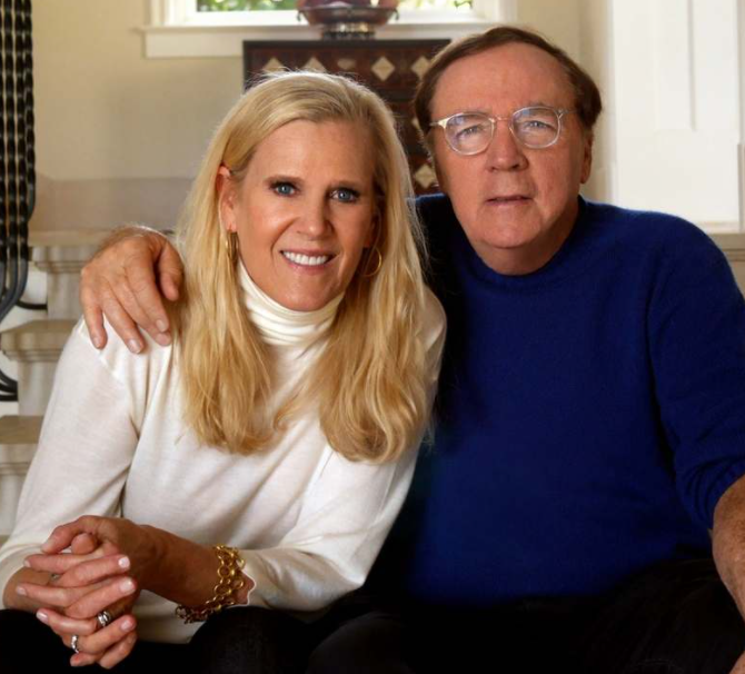 James Patterson with his wife, Susan Patterson