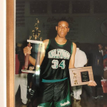 Paul Pierce with his first MVP trophy