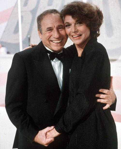 Mel Brooks with his late wife, Anne Bancroft