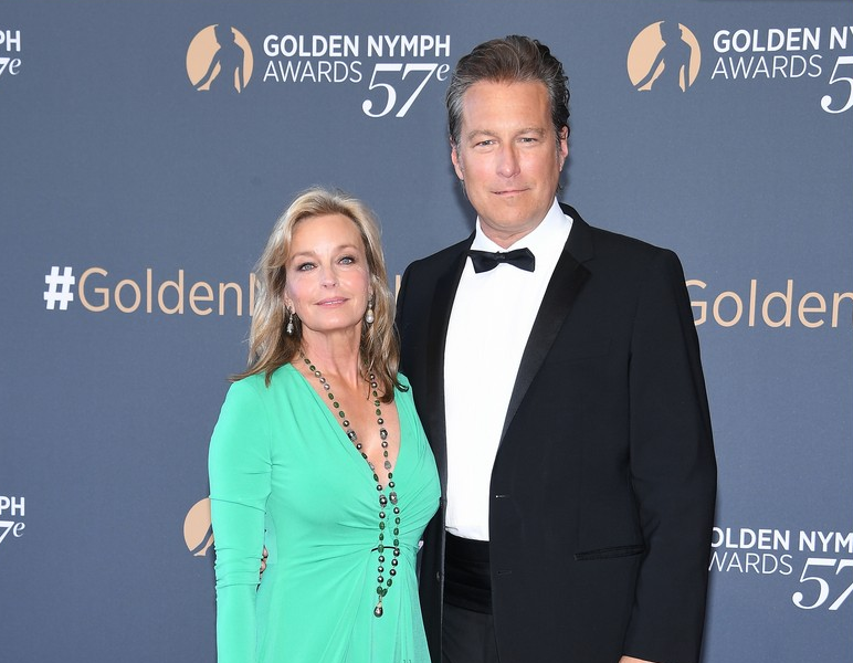 John Corbett and his girlfriend, Bo Derek