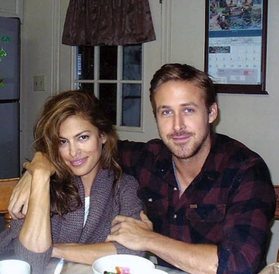 Eva Mendes and her boyriend, Ryan Gosling