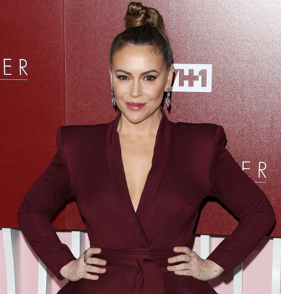 Alyssa Milano has revealed that she's recovered from COVID-19 after becoming infected