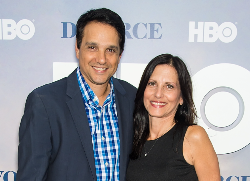 Ralph Macchio and his wife, Phyllis Fierro
