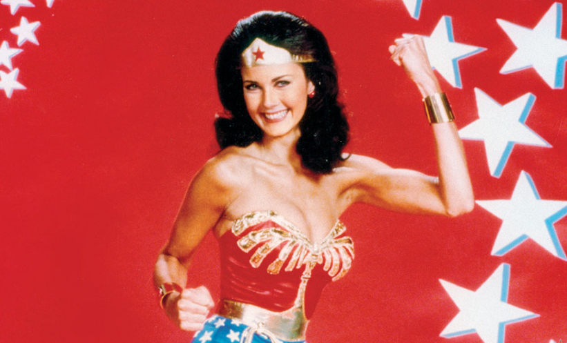 Lynda Carter as Diana Prince in Wonder Woman