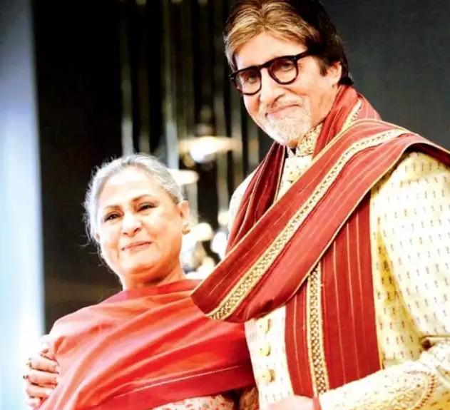 Amitabh Bachchan With His Wife, Jaya Bachchan