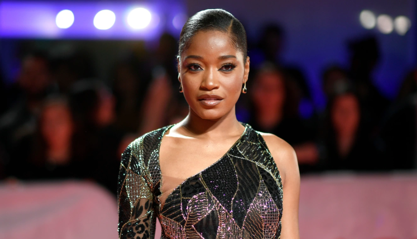 Keke Palmer, a famous singer and actress