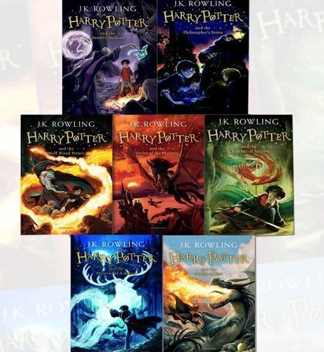 J. K. Rowling-Harry Potter's Collection