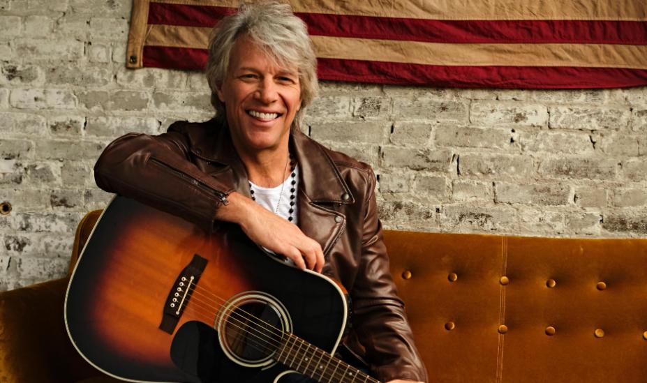 Jon Bon Jovi, a famous singer