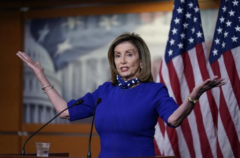 Nancy Pelosi, a famous politician