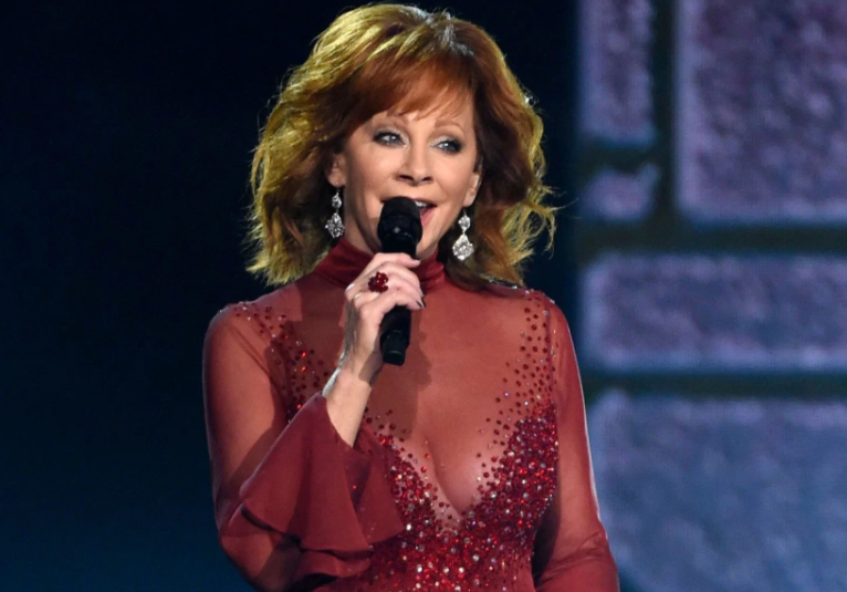 Reba McEntire, a famous singer as well as an actress