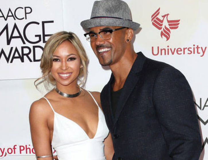 Shemar Moore With His Ex Wife Shawna Gordon
