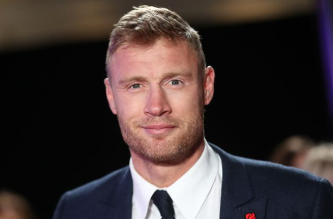 Andrew Flintoff, present television and radio presenter